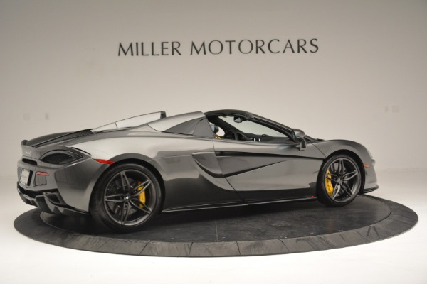 Used 2019 McLaren 570S Spider Convertible for sale $189,990 at Bugatti of Greenwich in Greenwich CT 06830 8
