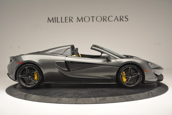 Used 2019 McLaren 570S Spider Convertible for sale $189,990 at Bugatti of Greenwich in Greenwich CT 06830 9