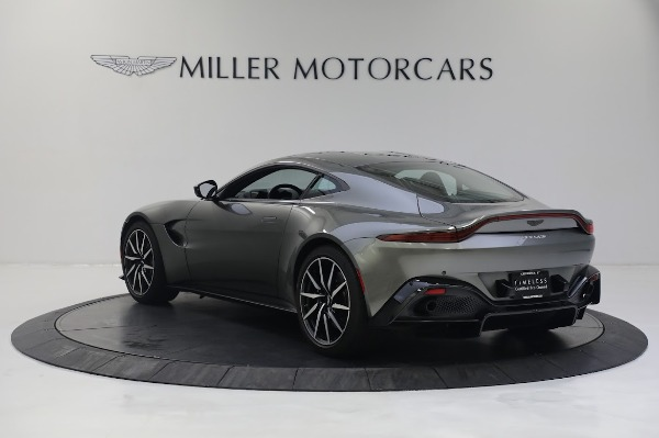 New 2019 Aston Martin Vantage V8 for sale Sold at Bugatti of Greenwich in Greenwich CT 06830 4