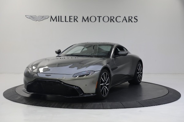 New 2019 Aston Martin Vantage V8 for sale Sold at Bugatti of Greenwich in Greenwich CT 06830 1