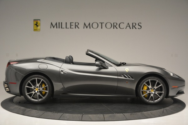 Used 2013 Ferrari California 30 for sale $110,900 at Bugatti of Greenwich in Greenwich CT 06830 9