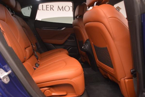 Used 2018 Maserati Levante Q4 for sale Sold at Bugatti of Greenwich in Greenwich CT 06830 27