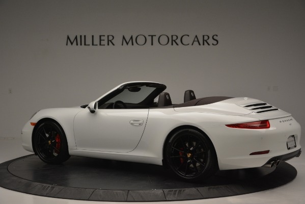 Used 2015 Porsche 911 Carrera S for sale Sold at Bugatti of Greenwich in Greenwich CT 06830 4