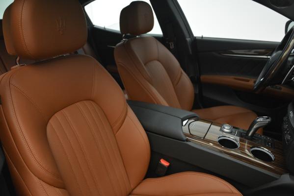 New 2019 Maserati Ghibli S Q4 GranLusso for sale Sold at Bugatti of Greenwich in Greenwich CT 06830 22