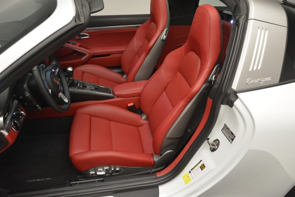 Used 2017 Porsche 911 Targa 4S for sale Sold at Bugatti of Greenwich in Greenwich CT 06830 12