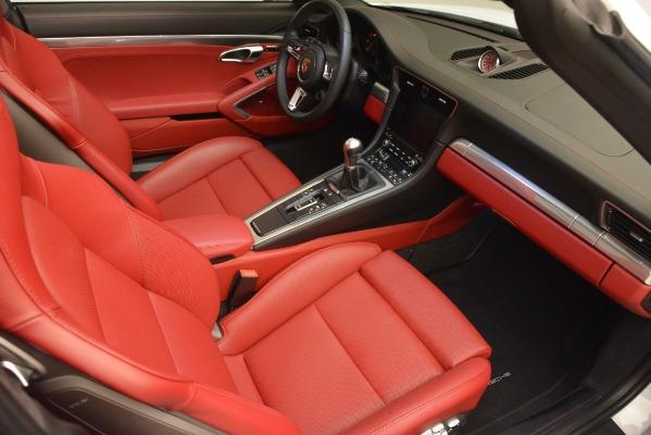 Used 2017 Porsche 911 Targa 4S for sale Sold at Bugatti of Greenwich in Greenwich CT 06830 17