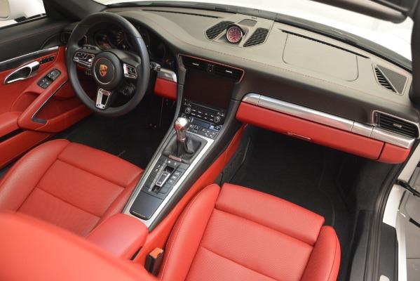 Used 2017 Porsche 911 Targa 4S for sale Sold at Bugatti of Greenwich in Greenwich CT 06830 21