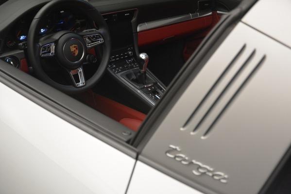 Used 2017 Porsche 911 Targa 4S for sale Sold at Bugatti of Greenwich in Greenwich CT 06830 22