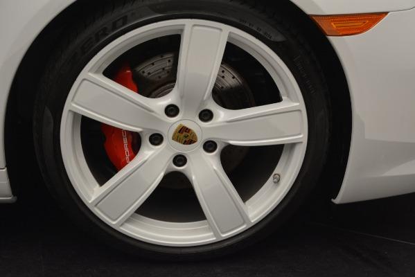Used 2017 Porsche 911 Targa 4S for sale Sold at Bugatti of Greenwich in Greenwich CT 06830 24