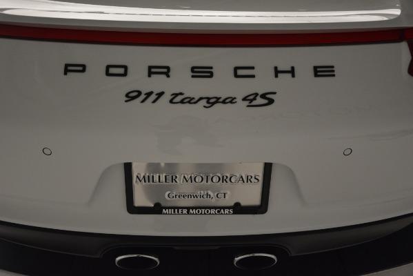 Used 2017 Porsche 911 Targa 4S for sale Sold at Bugatti of Greenwich in Greenwich CT 06830 25