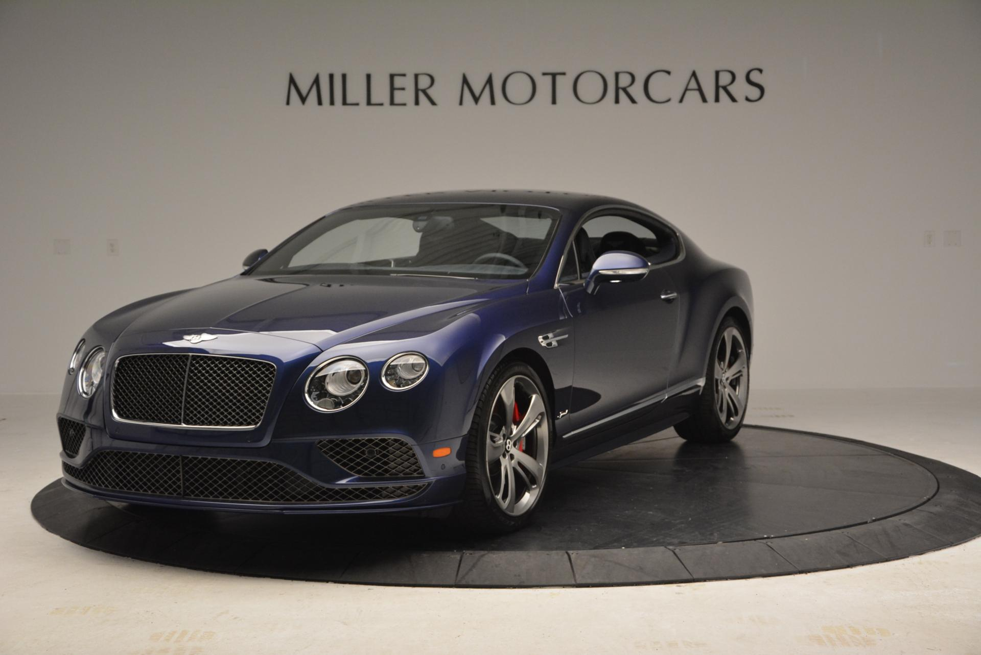 Used 2016 Bentley Continental GT Speed GT Speed for sale Sold at Bugatti of Greenwich in Greenwich CT 06830 1