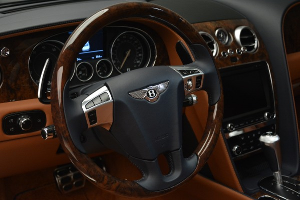 New 2018 Bentley Flying Spur V8 for sale Sold at Bugatti of Greenwich in Greenwich CT 06830 23