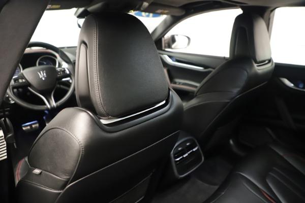 Used 2019 Maserati Ghibli S Q4 GranSport for sale $64,900 at Bugatti of Greenwich in Greenwich CT 06830 20