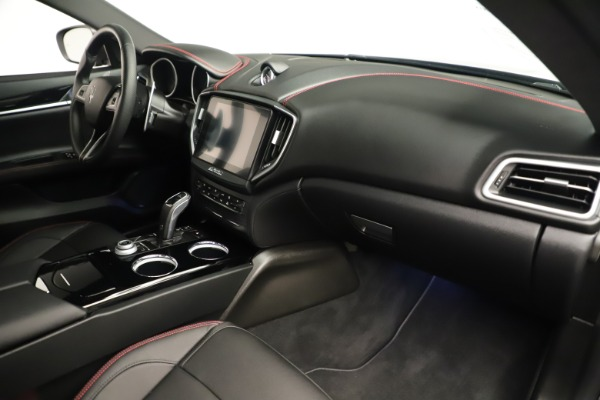 Used 2019 Maserati Ghibli S Q4 GranSport for sale $64,900 at Bugatti of Greenwich in Greenwich CT 06830 22