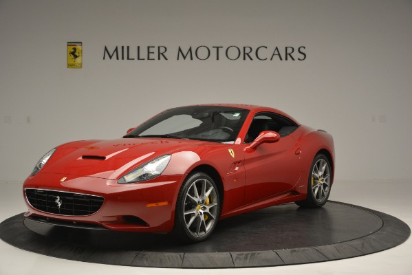 Used 2011 Ferrari California for sale Sold at Bugatti of Greenwich in Greenwich CT 06830 13