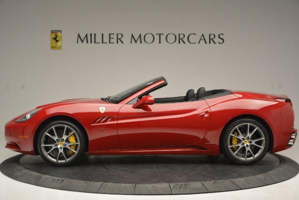 Used 2011 Ferrari California for sale Sold at Bugatti of Greenwich in Greenwich CT 06830 3