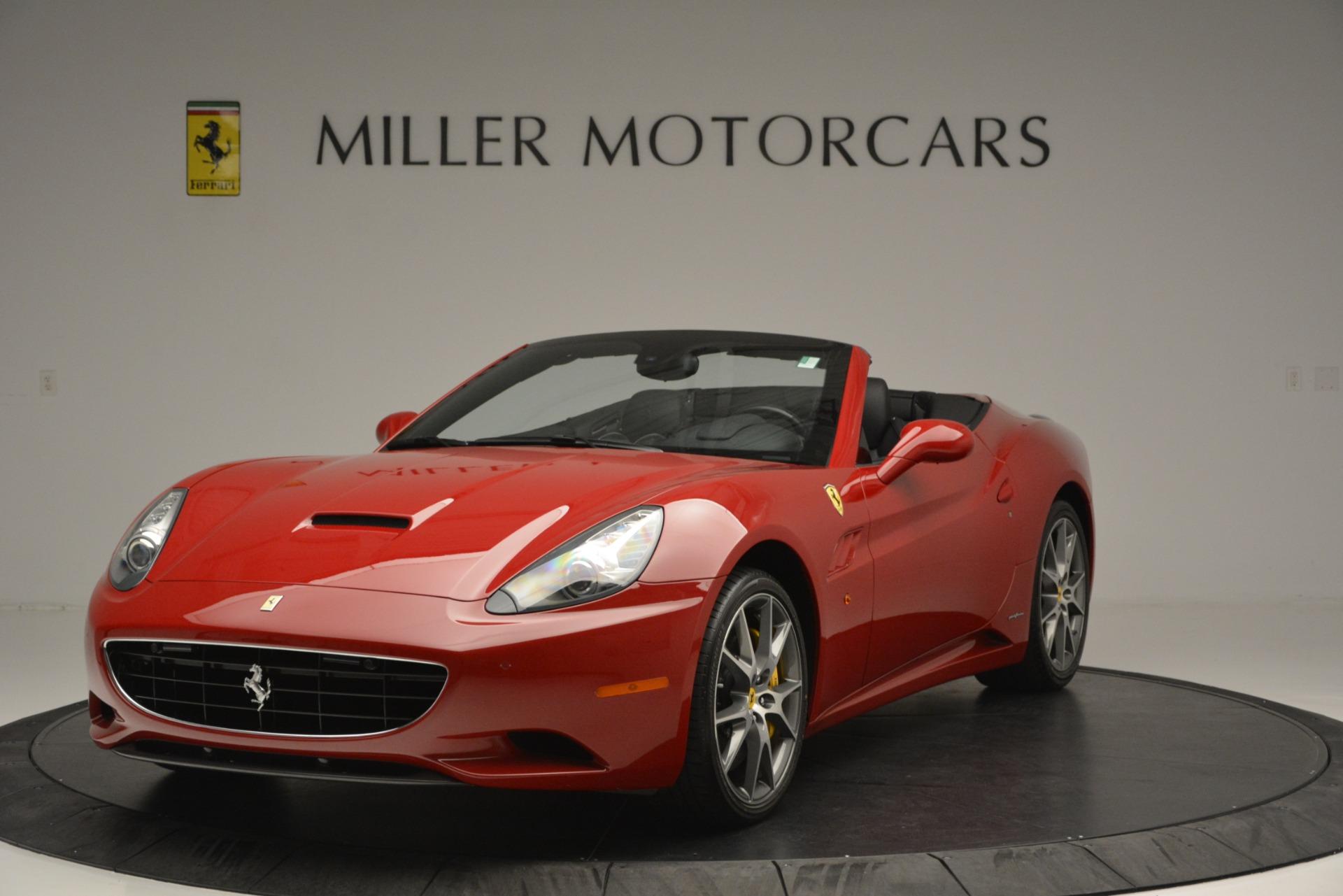 Used 2011 Ferrari California for sale Sold at Bugatti of Greenwich in Greenwich CT 06830 1