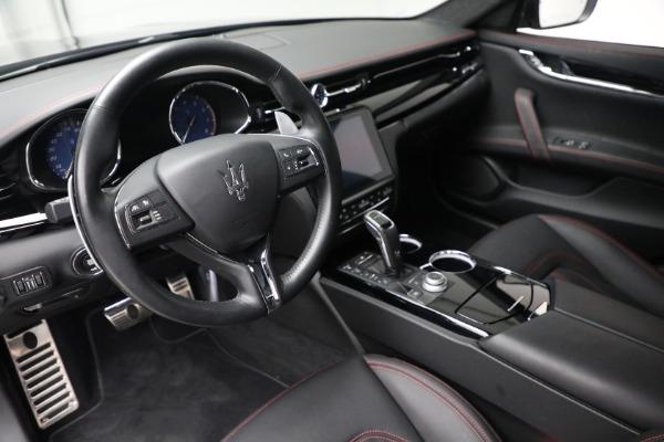 Used 2019 Maserati Quattroporte S Q4 GranLusso for sale Call for price at Bugatti of Greenwich in Greenwich CT 06830 14