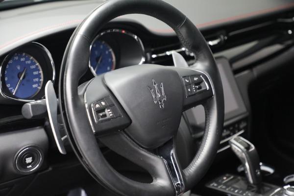 Used 2019 Maserati Quattroporte S Q4 GranLusso for sale Call for price at Bugatti of Greenwich in Greenwich CT 06830 17