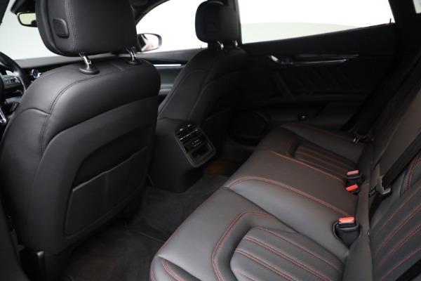 Used 2019 Maserati Quattroporte S Q4 GranLusso for sale Call for price at Bugatti of Greenwich in Greenwich CT 06830 22
