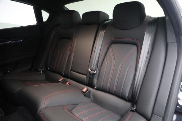 New 2019 Maserati Quattroporte S Q4 GranLusso for sale Sold at Bugatti of Greenwich in Greenwich CT 06830 24