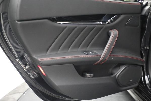 Used 2019 Maserati Quattroporte S Q4 GranLusso for sale Call for price at Bugatti of Greenwich in Greenwich CT 06830 25