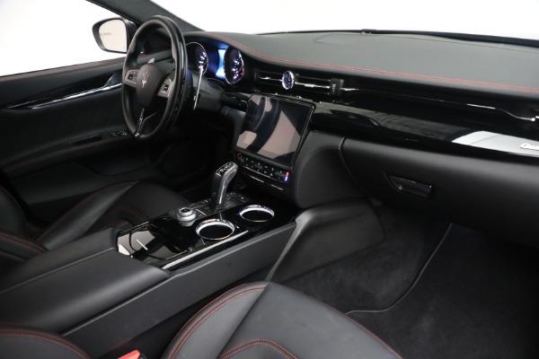 Used 2019 Maserati Quattroporte S Q4 GranLusso for sale Call for price at Bugatti of Greenwich in Greenwich CT 06830 26