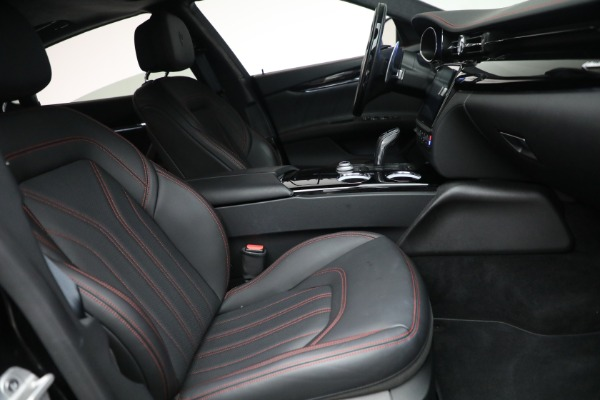 Used 2019 Maserati Quattroporte S Q4 GranLusso for sale Call for price at Bugatti of Greenwich in Greenwich CT 06830 27