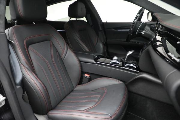 Used 2019 Maserati Quattroporte S Q4 GranLusso for sale Call for price at Bugatti of Greenwich in Greenwich CT 06830 28