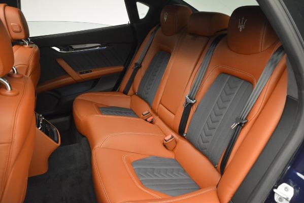 New 2019 Maserati Quattroporte S Q4 GranLusso for sale Sold at Bugatti of Greenwich in Greenwich CT 06830 16