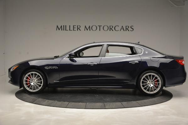 New 2019 Maserati Quattroporte S Q4 GranLusso for sale Sold at Bugatti of Greenwich in Greenwich CT 06830 3
