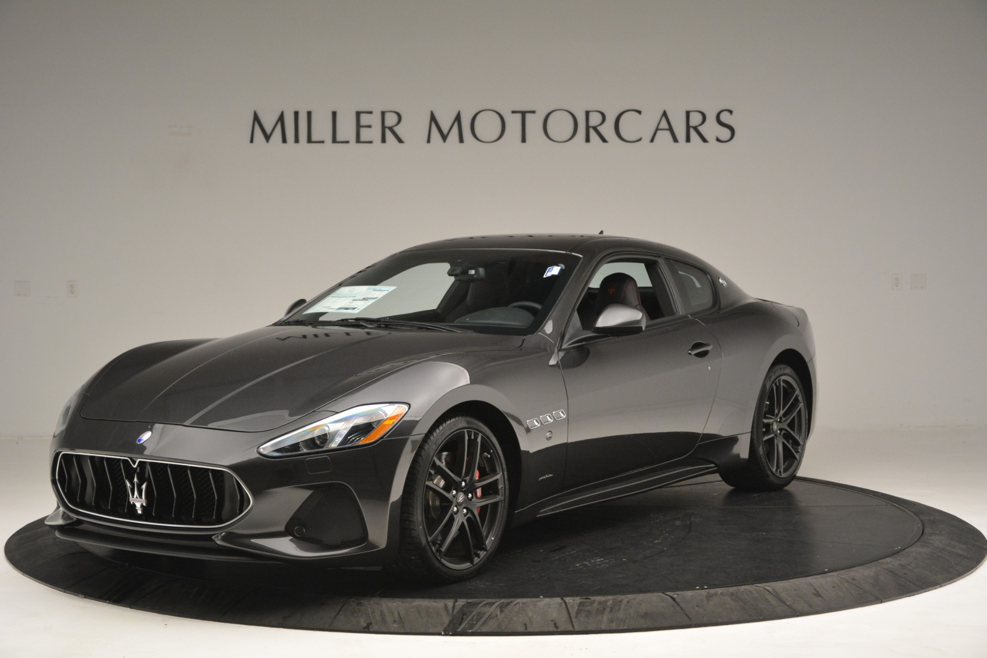 New 2018 Maserati GranTurismo Sport for sale Sold at Bugatti of Greenwich in Greenwich CT 06830 1