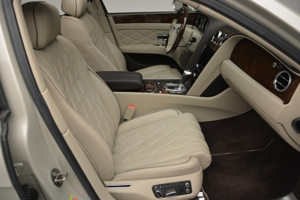 Used 2014 Bentley Flying Spur W12 for sale Sold at Bugatti of Greenwich in Greenwich CT 06830 27