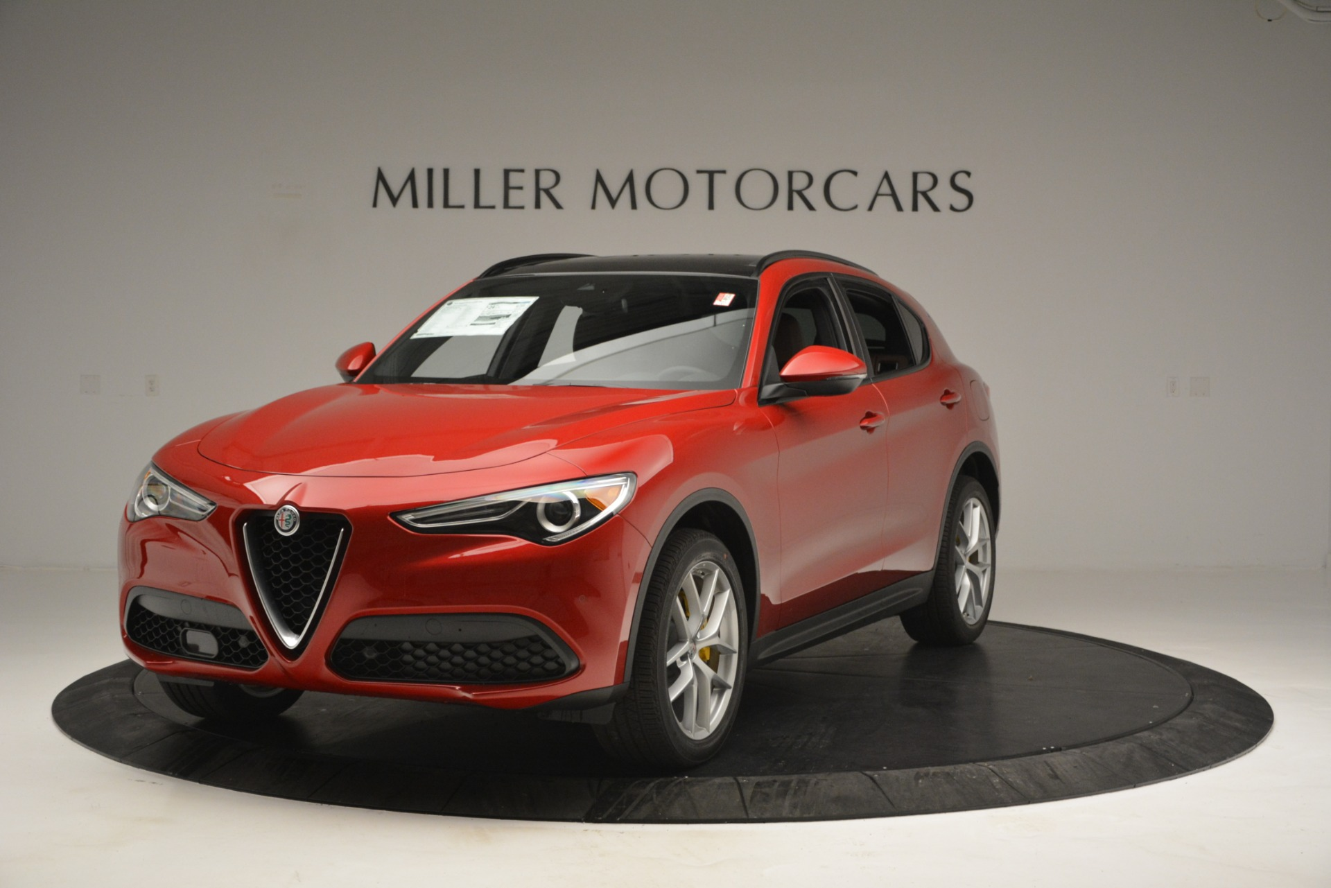 New 2018 Alfa Romeo Stelvio Ti Sport Q4 for sale Sold at Bugatti of Greenwich in Greenwich CT 06830 1