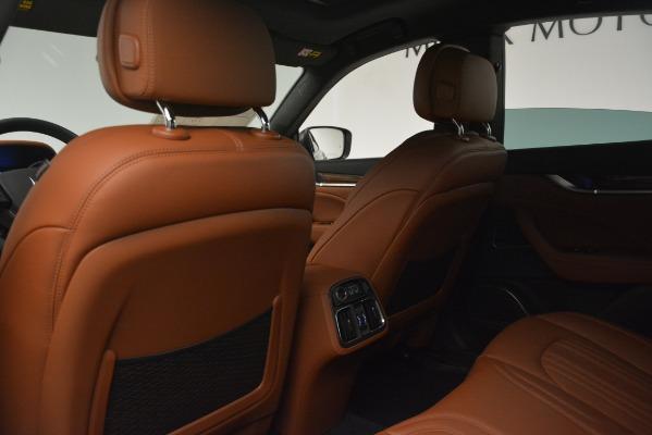 Used 2019 Maserati Levante Q4 GranLusso for sale Sold at Bugatti of Greenwich in Greenwich CT 06830 17