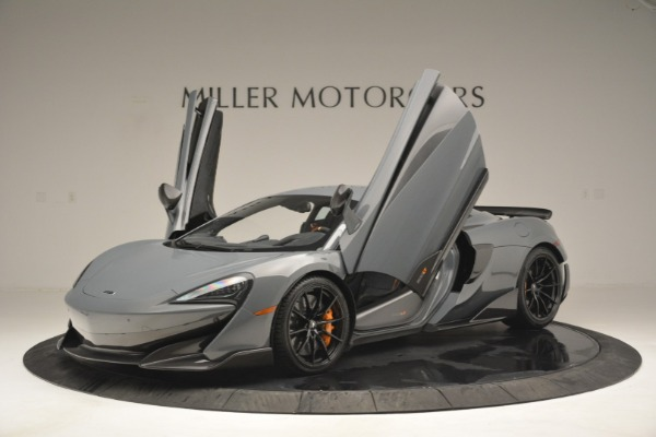New 2019 McLaren 600LT Coupe for sale Sold at Bugatti of Greenwich in Greenwich CT 06830 14