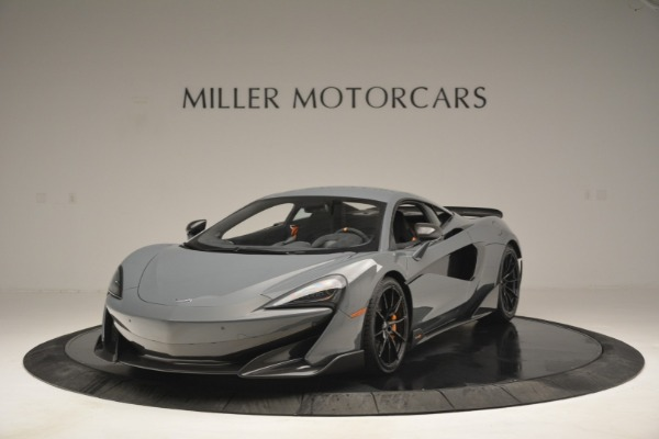 New 2019 McLaren 600LT Coupe for sale Sold at Bugatti of Greenwich in Greenwich CT 06830 2