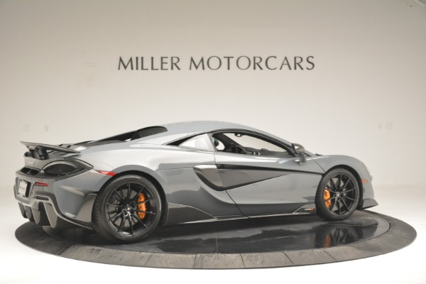 New 2019 McLaren 600LT Coupe for sale Sold at Bugatti of Greenwich in Greenwich CT 06830 8
