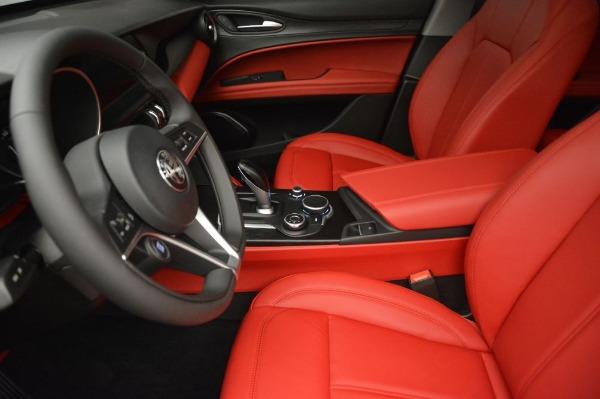 New 2019 Alfa Romeo Stelvio Q4 for sale Sold at Bugatti of Greenwich in Greenwich CT 06830 14