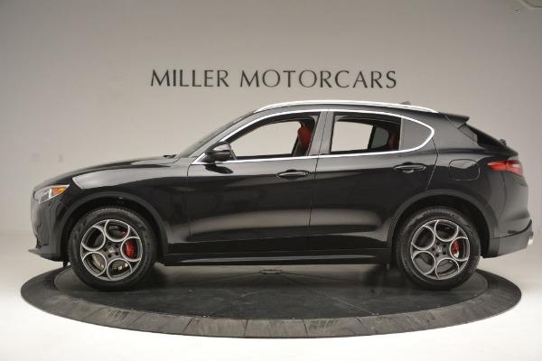 New 2019 Alfa Romeo Stelvio Q4 for sale Sold at Bugatti of Greenwich in Greenwich CT 06830 3