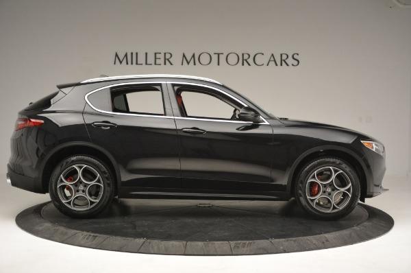 New 2019 Alfa Romeo Stelvio Q4 for sale Sold at Bugatti of Greenwich in Greenwich CT 06830 9