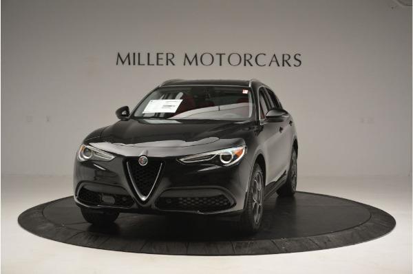 New 2019 Alfa Romeo Stelvio Q4 for sale Sold at Bugatti of Greenwich in Greenwich CT 06830 1