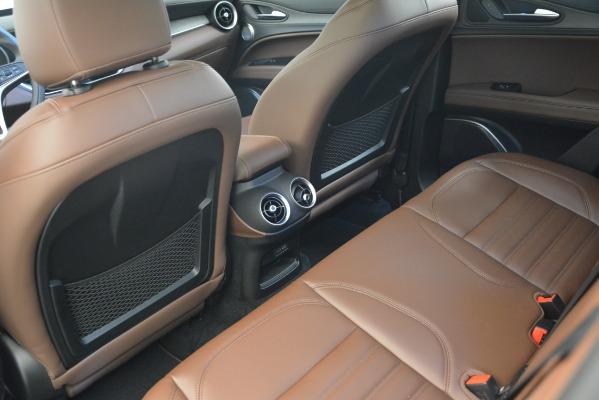 New 2019 Alfa Romeo Stelvio Ti Sport Q4 for sale Sold at Bugatti of Greenwich in Greenwich CT 06830 17