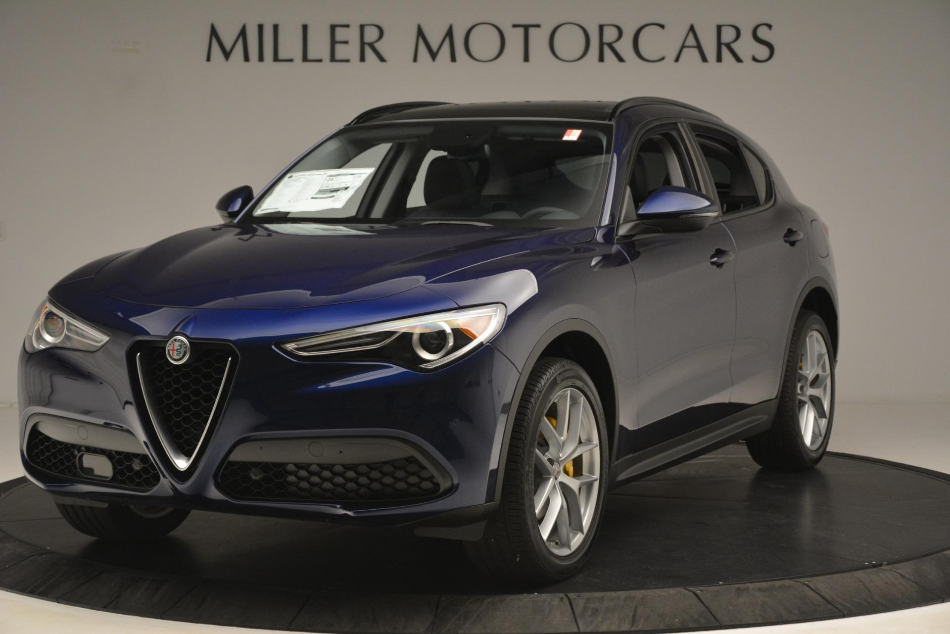 New 2019 Alfa Romeo Stelvio SPORT AWD for sale Sold at Bugatti of Greenwich in Greenwich CT 06830 1