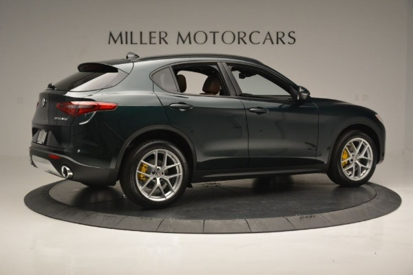 New 2019 Alfa Romeo Stelvio Sport Q4 for sale Sold at Bugatti of Greenwich in Greenwich CT 06830 9