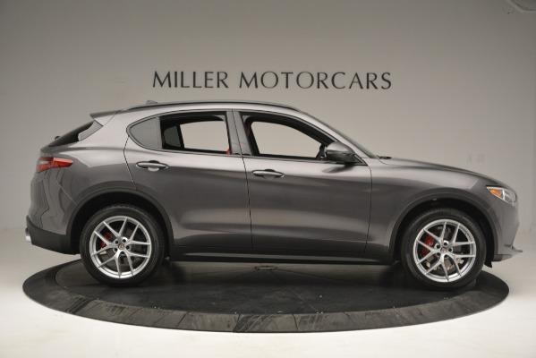 New 2019 Alfa Romeo Stelvio Ti Sport Q4 for sale Sold at Bugatti of Greenwich in Greenwich CT 06830 9