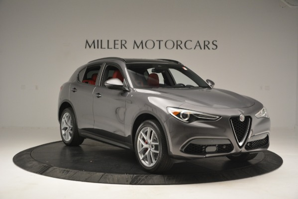 New 2019 Alfa Romeo Stelvio Sport Q4 for sale Sold at Bugatti of Greenwich in Greenwich CT 06830 11