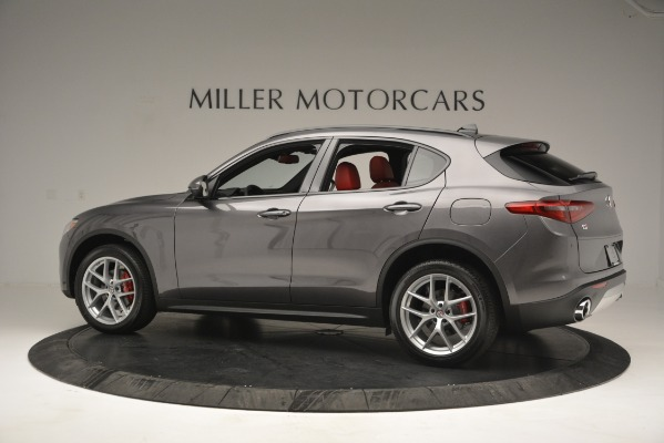 New 2019 Alfa Romeo Stelvio Sport Q4 for sale Sold at Bugatti of Greenwich in Greenwich CT 06830 4