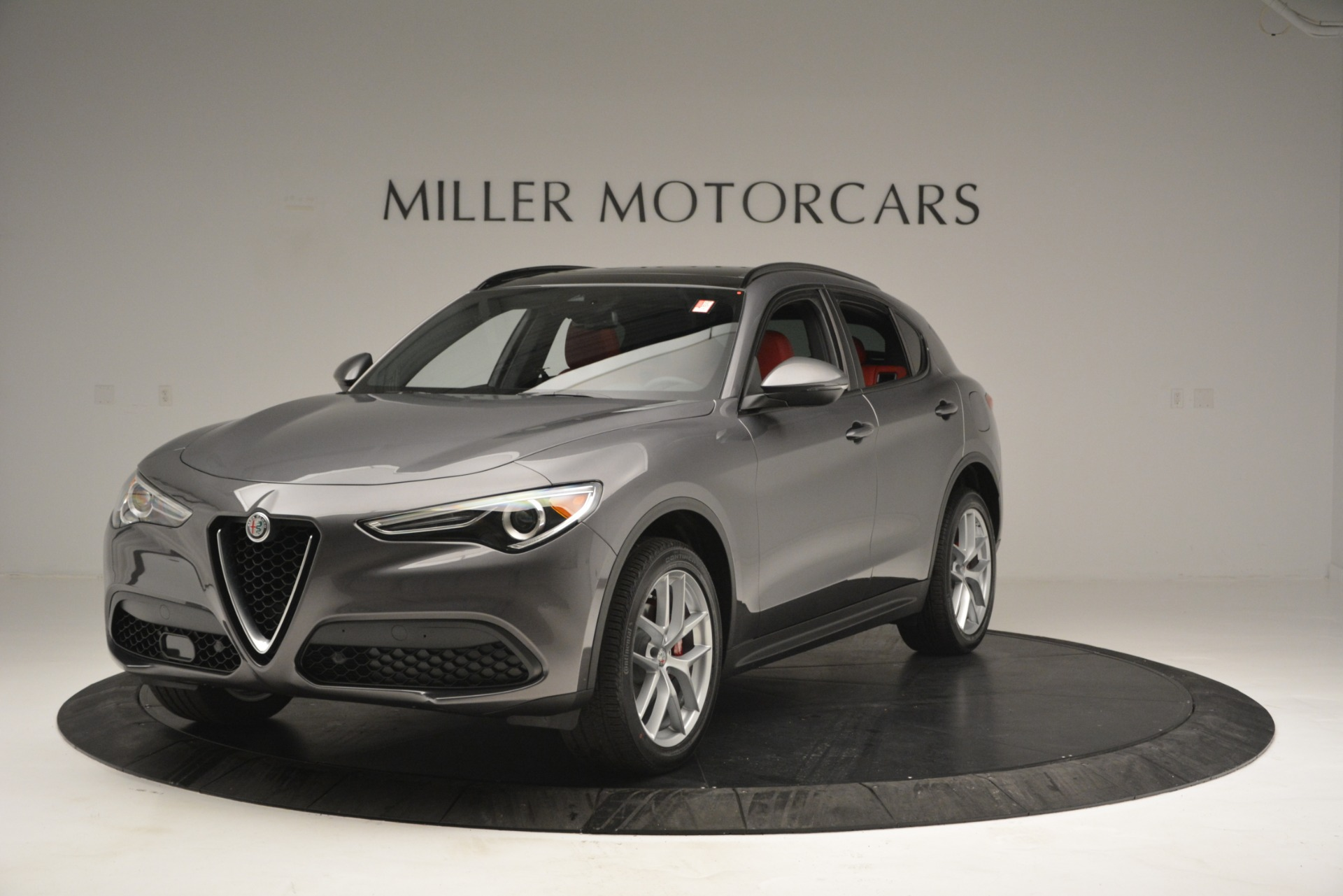 New 2019 Alfa Romeo Stelvio Sport Q4 for sale Sold at Bugatti of Greenwich in Greenwich CT 06830 1