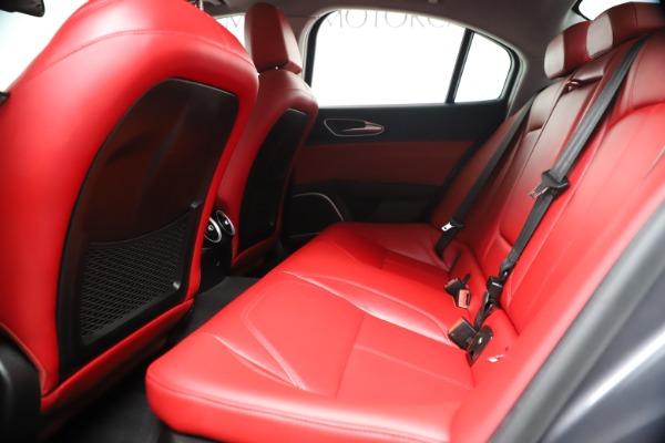 New 2019 Alfa Romeo Giulia Q4 for sale Sold at Bugatti of Greenwich in Greenwich CT 06830 18